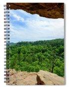 The Vista Extraordinaire Spiral Notebook