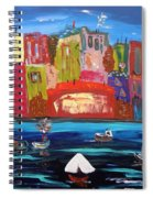 The Vista Of The City Spiral Notebook