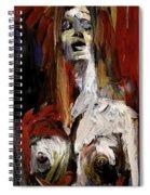 The Vocalist Spiral Notebook