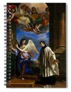 The Vocation Of Saint Aloysius Gonzaga Spiral Notebook