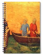 The Vocation Of The Apostle Peter Fragment 1311 Spiral Notebook