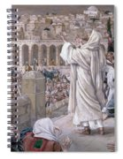 The Voice From Heaven Spiral Notebook