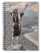 The Voice In The Desert Spiral Notebook