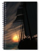 The Voyage Home  Spiral Notebook