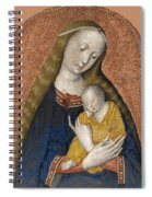 The Vrigin And Child Spiral Notebook