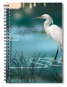 The Wading Hunter Spiral Notebook