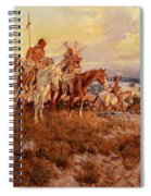 The Wagons Spiral Notebook