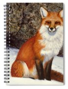 The Wait Red Fox Spiral Notebook