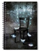 The Waiting Room II Spiral Notebook