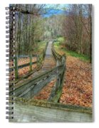 The Walk In The Woods Spiral Notebook