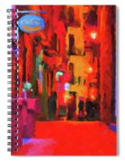 The Walkabouts - Spanish Red Moon Stroll Spiral Notebook