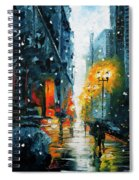 The Walking Man Spiral Notebook