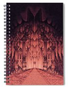 The Walls Of Barad Dur Spiral Notebook