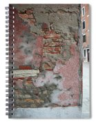 The Walls Of Venice Spiral Notebook