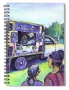 The Wandering Madman Spiral Notebook