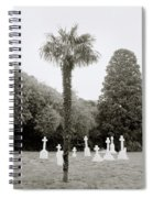 The War Cemetery Spiral Notebook