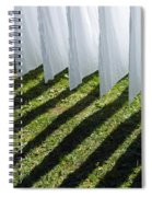 The Washing Is On The Line - Shadow Play Spiral Notebook