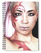 The Watcher Iv Spiral Notebook