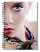 The Watcher Vi Spiral Notebook
