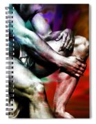 The Watching Man   Spiral Notebook