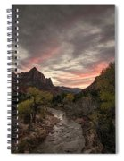 The Watchman Sunset Spiral Notebook