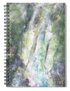The Water Falls Spiral Notebook
