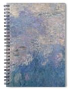 The Water Lilies, The Clouds Spiral Notebook