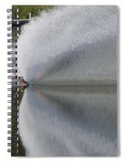 The  Water Skier Spiral Notebook