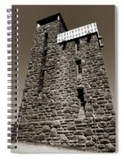 The Water Tower At Mount Constitution Spiral Notebook