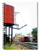 The Water Tower Spiral Notebook