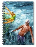The Water Wall Spiral Notebook