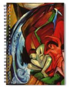 The Waterfall 1912 Spiral Notebook