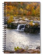 The Waterfalls Spiral Notebook