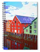 The Waterfront Spiral Notebook