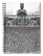 The Waterman Fountain Spiral Notebook