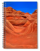 The Wave Panorama - X Spiral Notebook