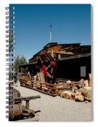 The Way It Was Virginia City Nv Spiral Notebook