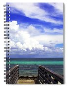 The Way To The Beach 2 Spiral Notebook