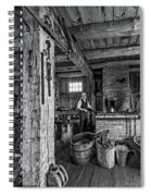 The Way We Were - The Blacksmith 2 Bw Spiral Notebook