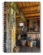 The Way We Were - The Blacksmith 2 Spiral Notebook