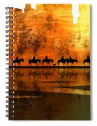 The Weary Journey Spiral Notebook