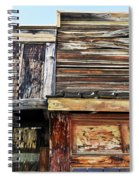 The Weathered Paramount Ranch Spiral Notebook