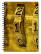 The Web Of Nine Eleven  Spiral Notebook