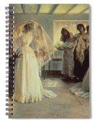 The Wedding Morning Spiral Notebook