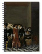 The Wedding Party Spiral Notebook