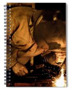 The Welder Spiral Notebook