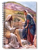 The Well Of Sychar Spiral Notebook