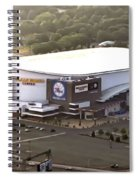 The Wells Fargo Center Spiral Notebook