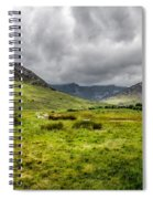 The Welsh Valley Spiral Notebook
