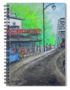 The West End Carryout At The Bridge Spiral Notebook